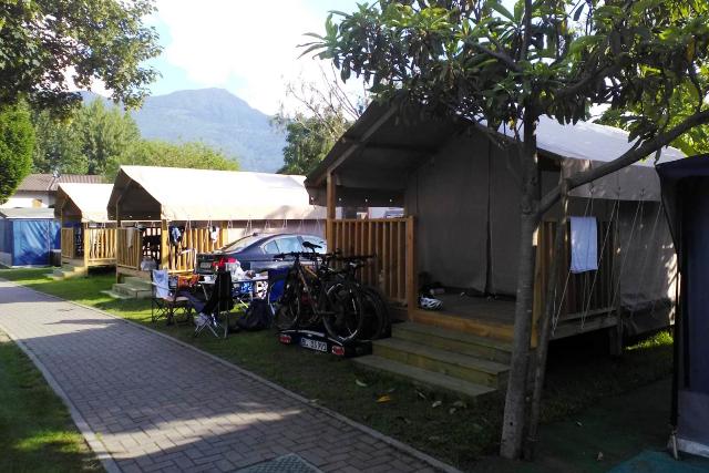 Mini Lodge Camping Italia 90